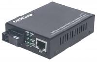 Intellinet 545075 1000Mbit/s 1550nm Einzelmodus Schwarz Netzwerk Medienkonverter (Schwarz)
