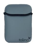 Tolino 2400002625313 eBook-Reader-Schutzhülle (Schwarz, Grau)
