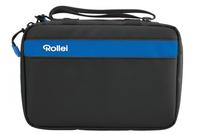 Rollei 20256 Fahrradtasche Kameratasche (Schwarz, Blau)