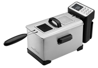 ProfiCook PC-FR 1087 (Schwarz, Edelstahl)