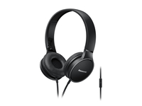 Panasonic RP-HF300ME-K Stereophonisch Kopfband Schwarz Mobiles Headset (Schwarz)