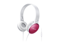 Panasonic RP-HF300ME-P Stereophonisch Kopfband Weiß Mobiles Headset (Pink, Weiß)