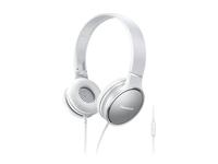Panasonic RP-HF300ME-W Stereophonisch Kopfband Schwarz Mobiles Headset (Grau, Weiß)
