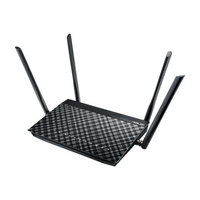 ASUS DSL-AC52U Dual-band (2.4 GHz / 5 GHz) Gigabit Ethernet Schwarz (Schwarz)