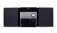 LG CM1560 Micro-Set 10W Schwarz Home-Stereoanlage (Schwarz)