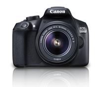 Canon EOS 1300D + EF-S 18-55 IS II 18MP CMOS 5184 x 3456Pixel Schwarz (Schwarz)