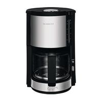 Krups ProAroma Plus Drip coffee maker 1.25l 10Tassen Schwarz, Edelstahl (Schwarz, Edelstahl, Transparent)