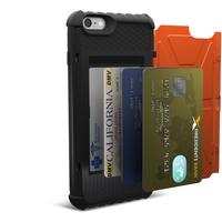 Urban Armor Gear Card Case For iPhone 6S Plus 5.5Zoll Abdeckung Orange (Orange)