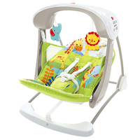 Fisher Price CCN92 Babyschaukel & -wippe (Grün, Weiß)