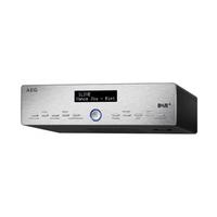 AEG KRC 4368 Persönlich Digital Schwarz, Silber Radio (Schwarz, Silber)
