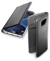 Cellularline BACKBOOKGALS7EK 5.5Zoll Blatt Schwarz Handy-Schutzhülle (Schwarz)