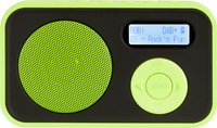 Telestar DABMAN 12 Tragbar Analog & digital Schwarz, Grün Radio (Schwarz, Grün)