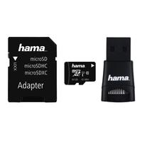 Hama microSDXC 64GB 64GB MicroSDXC UHS-I Class 10 Speicherkarte (Schwarz)