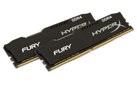 HyperX FURY Memory Black 16GB DDR4 2400MHz Kit 16GB DDR4 2400MHz Speichermodul (Schwarz)