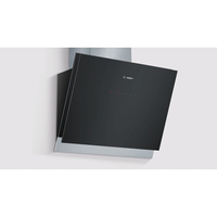 Bosch Serie | 8 DWK068G61 Wand-montiert 850m³/h A Schwarz, Grau Dunstabzugshaube (Schwarz, Grau)