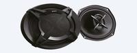 Sony XS-FB6920E Oval 2-Wege 420W Autolautsprecher (Schwarz)