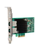 Intel X550-T2 Eingebaut Ethernet 8000Mbit/s Netzwerkkarte (Schwarz, Grün)