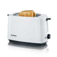 Severin AT 2286 2Scheibe(n) 700W Schwarz, Weiß Toaster (Schwarz, Weiß)