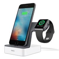 Belkin PowerHouse Smartphone Grau, Weiß Handy-Dockingstation (Grau, Weiß)