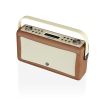 View Quest Hepburn Mk II Tragbar Radio (Braun)