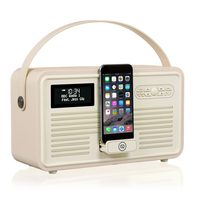View Quest Retro Mk II Tragbar Cream Radio (Cremefarben)
