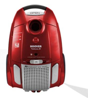 Hoover TE-75 Zylinder 3.2l 700W A Rot Staubsauger (Rot)