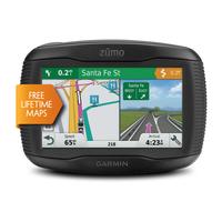 Garmin zūmo 395LM Fixed 4.3Zoll TFT Touchscreen 270g Schwarz (Schwarz)