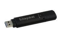 Kingston Technology DataTraveler 4000G2 with Management 64GB 64GB USB 3.0 Schwarz USB-Stick (Schwarz)