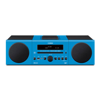 Yamaha MCR-B043D Micro set 30W Blau Home-Stereoanlage (Blau)