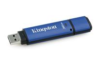 Kingston Technology DataTraveler Vault Privacy 3.0 with Management 32GB 32GB USB 3.0 USB-Stick (Schwarz, Blau)