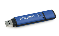 Kingston Technology DataTraveler Vault Privacy 3.0 with Management 4GB 4GB USB 3.0 Schwarz, Blau USB-Stick (Schwarz, Blau)