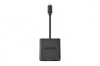 Sitecom CN-361 USB-C to VGA Adapter (Schwarz)