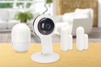 Ednet 84299 WLAN Smart Home Sicherheitsausrüstung (Weiß)