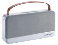 Thomson WS03 Stereo 30W Rechteck Weiß Tragbarer Lautsprecher (Aluminium, Weiß)