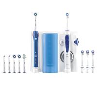 Oral-B Health Center Rotierende-vibrierende Zahnbürste Blau, Weiß (Blau, Weiß)
