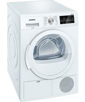 Siemens WT46G400 Freistehend Frontlader 8kg B Weiß Wäschetrockner (Weiß)