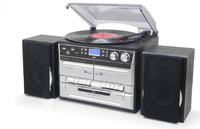 Soundmaster MCD5500SW Mini set 5W Schwarz Home-Stereoanlage (Schwarz)