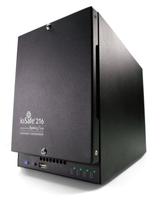 ioSafe 216 NAS Tower Eingebauter Ethernet-Anschluss Schwarz (Schwarz)