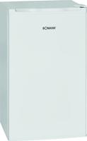 Bomann KS 4261 Freistehend 85l A+ Weiß Kühlschrank mit Gefrierfach (Weiß)