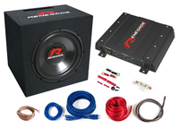 Renegade RBK1100XL 4channels Auto Audioverstärker (Schwarz)