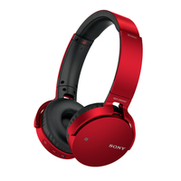 Sony MDRXB650BT Stereophonisch Kopfband Rot (Rot)