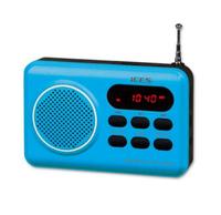 Ices IMPR-112 Tragbar Blau Radio (Blau)