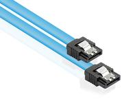 Alcasa SATA/SATA, 0.7m 0.7m SATA III SATA III Schwarz, Blau SATA-Kabel (Schwarz, Blau)