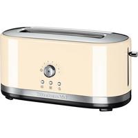 KitchenAid 5KMT4116 2Scheibe(n) 1800W Cremefarben Toaster (Cremefarben)