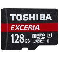 Toshiba EXCERIA M301-EC 128GB MicroSDXC UHS-I Class 10 Speicherkarte (Schwarz, Rot)