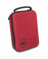 XSories POWER CAPXULE SMALL Hard-Case Schwarz, Rot (Schwarz, Rot)