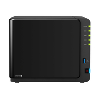 Synology DS916+ NAS Desktop Eingebauter Ethernet-Anschluss Schwarz (Schwarz)