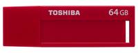 Toshiba TransMemory U302 64GB USB 3.0 Rot USB-Stick (Rot)