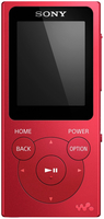Sony NWE394R MP3 8GB Rot MP3/MP4 Player (Rot)