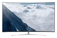 Samsung KS9090 65Zoll 4K Ultra HD WLAN Schwarz, Silber (Schwarz, Silber)